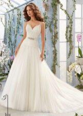 Свадебное платье из коллекции Blu от Мори Ли
