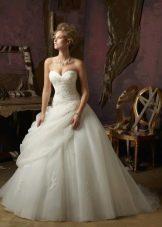 Пышное свадебное платье от Mori Lee многослойное