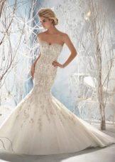 Свадебное платье русалка от Mori Lee 2014