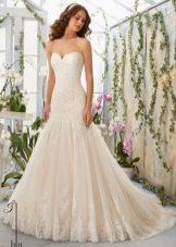 Свадебное платье из коллекции Блу