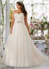 Свадебное платье размера plus size