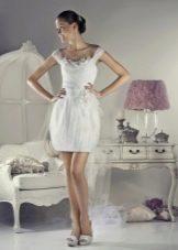 Свадебное платье от Тани Григ короткое