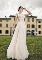 Свадебное платье от Tulipia  с кружевным верхом