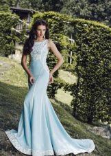 Свадебное платье от Tulipia  голубое