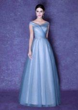 Вечернее платье а-силуэта из Китая