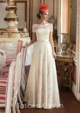 Свадебное платье от Татьяны Каплун из коллекции Lady of quality с вышивкой