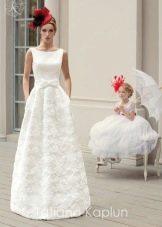 платье свадебное от Татьяны Каплун с бантом