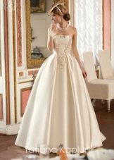 Пышное свадебное платье от Татьяны Каплун с жемчугом