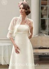 Болеро к свадебному платью от Татьяны Каплун