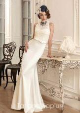 Свадебное платье от Татьяны Каплун из коллекции Lady of quality в стиле 20-х гг