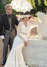 Свадебное платье от Татьяны Каплун из коллекции Lady of quality с кружевом
