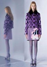 Платье с пиджаком цветное