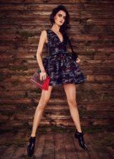 Цветное платье беби долл