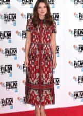 Цветное платье Киры Найтли