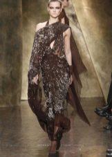 Туфли под коричневое платье