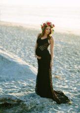 Платье для фотосессии беременной