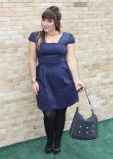 Короткие платья для полных женщин невысокого роста