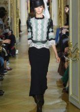 Черное платье от Ульяны Сергеенко
