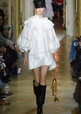 Белое платье от Ульяны Сергеенко