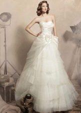 Свадебное платье из органзы от Папилио