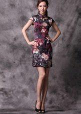 Платье ципао (в китайском стиле)