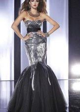 Платье в стиле диско русалка