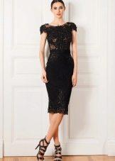 Платье в стиле Коко кружевное