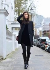 Пальто к платью делового стиля