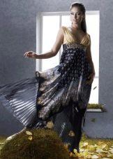 Платье в греческом стиле большого размера