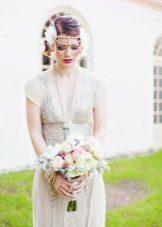 Образ для невесты в стиле Гэтсби на свадьбу