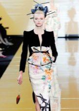 Прическа для платья в восточном стиле