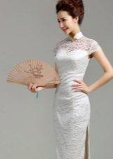 Веер под платье в восточном стиле