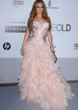 Розовое платье от Роберто Кавалли