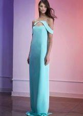 Платье футляр в пол