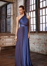 Греческое платье на одно плечо