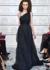 Платье греческое синее от Schiaparelli
