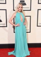 Грэмми--2016 платье с глубоким вырезом