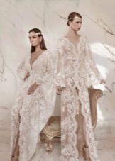 Кружевные платья свадебные прозрачные