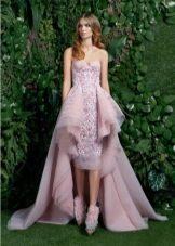 Платье-бюстье кружевное