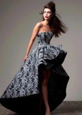 Платье хайлоу из неопрена