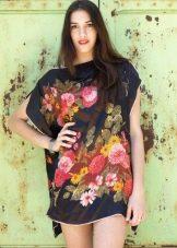 Туника-платье свободное