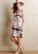 Туника-платье пляжное