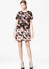 Платье-туника разноцветная