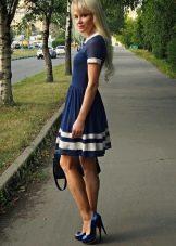 Платье на каждый в морском стиле