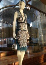 Платье в стиле Гетсби короткое