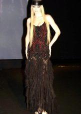Вечернее платье в стиле чикаго русалка
