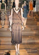 Платье в стиле Гетсби миди