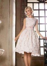 Платье в стиле нью лук свадебное