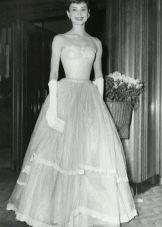 Бальное платье Одри Хепберн