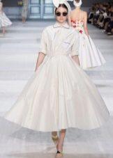 Платье-рубашка в стиле стиляг